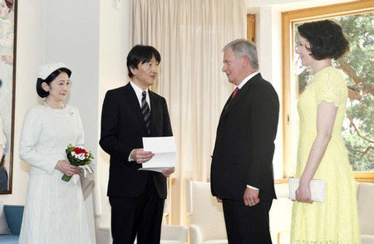 秋篠宮ご夫妻とニーニスト大統領夫妻