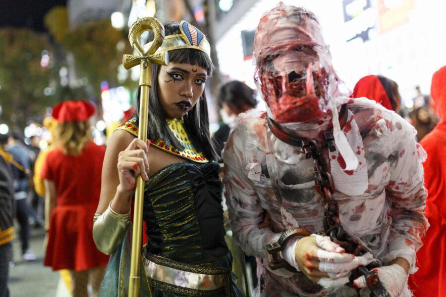渋谷のハロウィン仮装